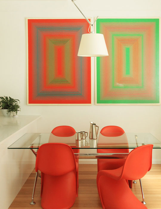 39 Bright And Colorful Dining Room Design Ideas - DigsDi