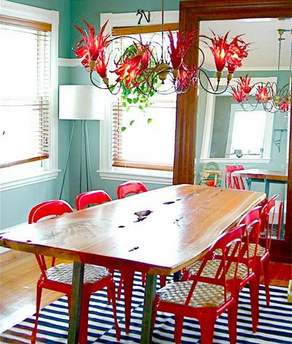 Bright Dining Room Desig