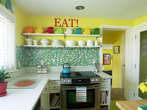 Count Them: Bright And Colorful Kitchen Design Ideas   Kitchen .