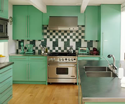 Best bright colorful kitchen design ideas 52 for your small home .