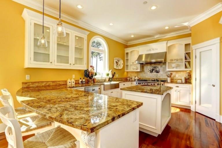 35+ Stunning Bright Colorful Kitchen Design Ide