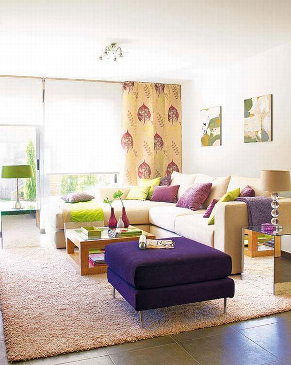 Colorful Living Room Interior Design Ide