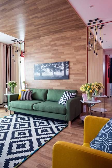 Bright Room Colors and Provocative Interior Design and Decorating .