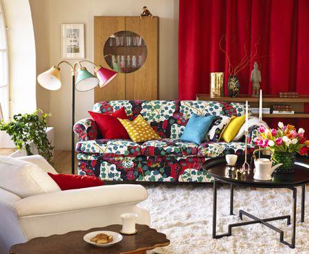 21 Colorful Living Room Desig