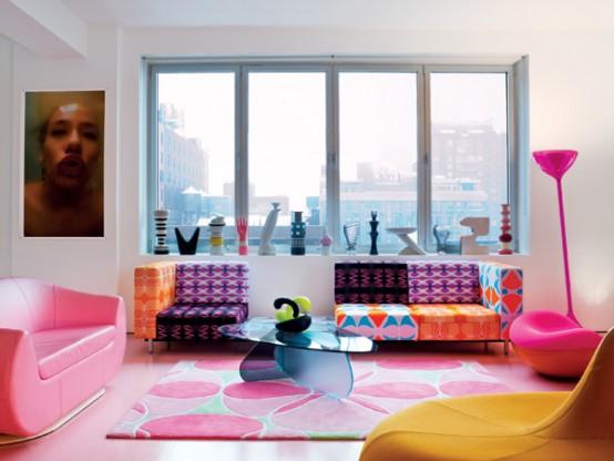 111 Bright And Colorful Living Room Design Ideas - DigsDi