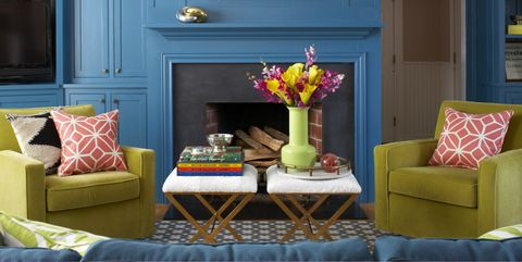 40 Vibrant Room Color Ideas - How to Decorate With Bright Colo