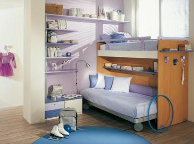 Home Decorating Ideas: Bright Kids Room Ideas from Sangiorgio Mobi