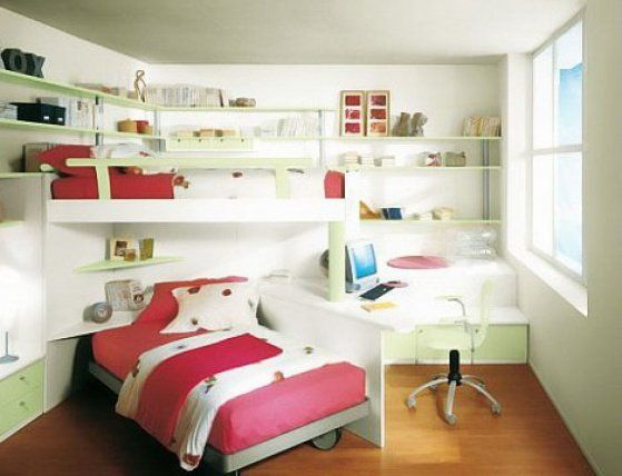 44 Contemporary Kids Bedroom Concepts For Tiny Area | Interior .