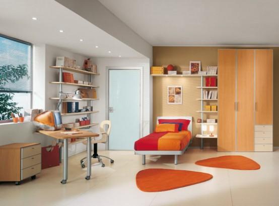 Architecture Homes: Bright Kids Room Ideas from Sangiorgio Mobi