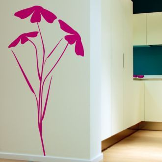 Bright Wall Stickers By Vinyluse | Home decor, Wall design, Floral .