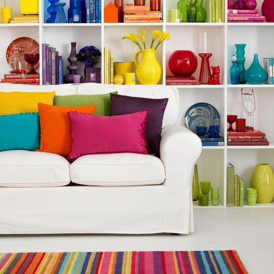 Apartment Decorating Ideas - Bright and Cute DIY Apartment Decor .