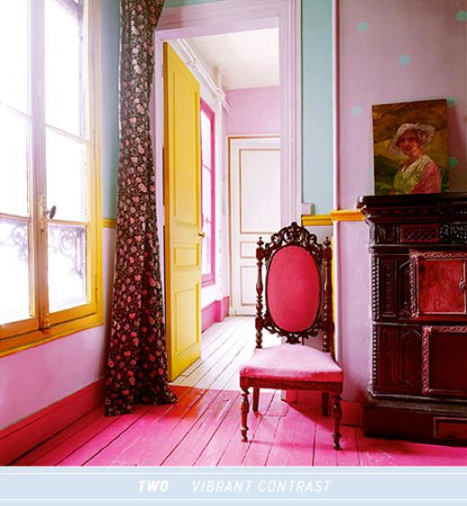 Three Ways To Work Colourful Interior Doors - Bright Bazaar by .