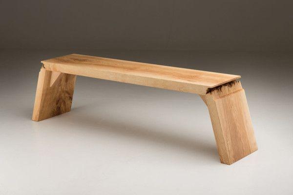 Broken: Furniture that Explores the Defects in Wood - Design Milk .
