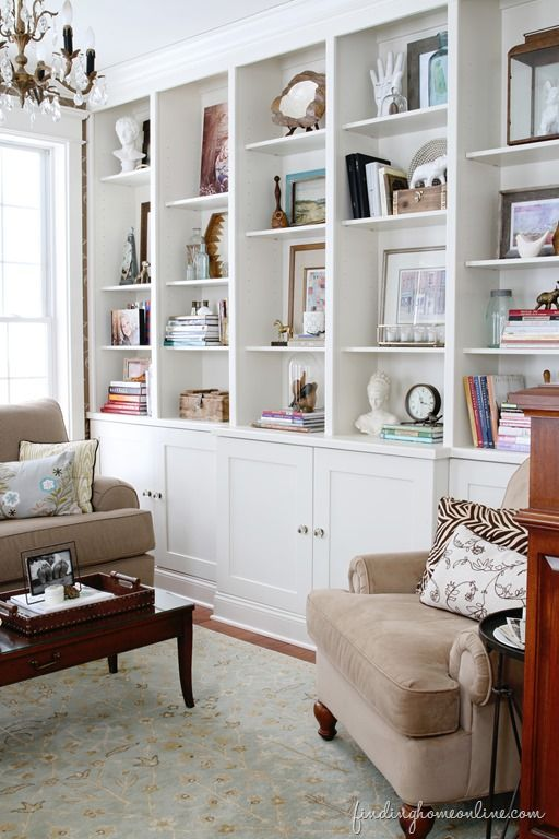 Lessons Learned in Styling a Bookcase - Finding Home Farms .