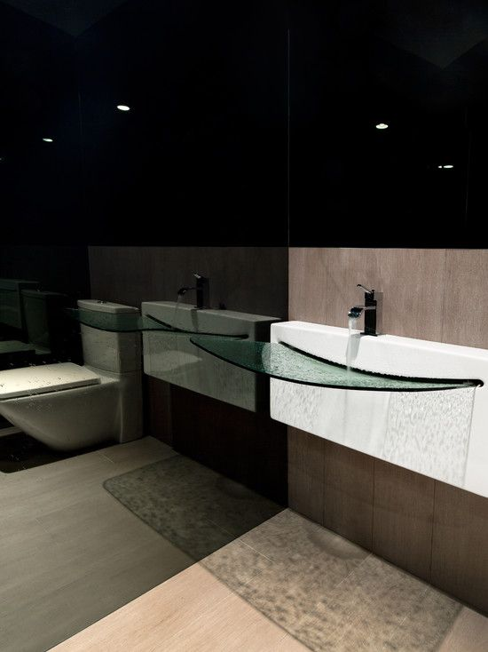 Powder Room Design Ideas, Pictures, Remodel and Decor | Mirror .