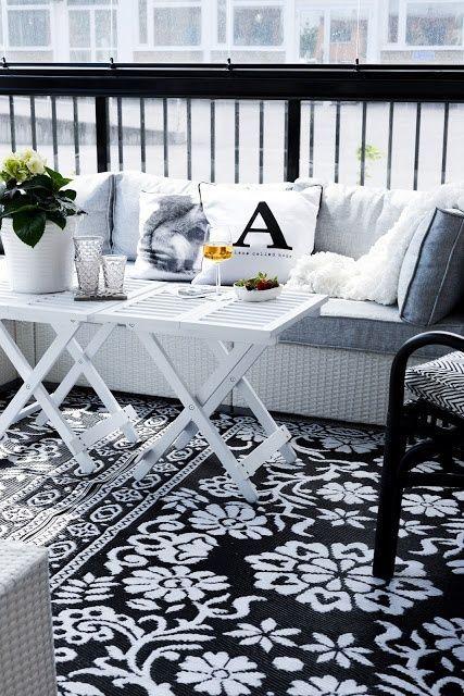 25 Calm Scandinavian Terrace Designs in 2020 | Terrasse dekor .