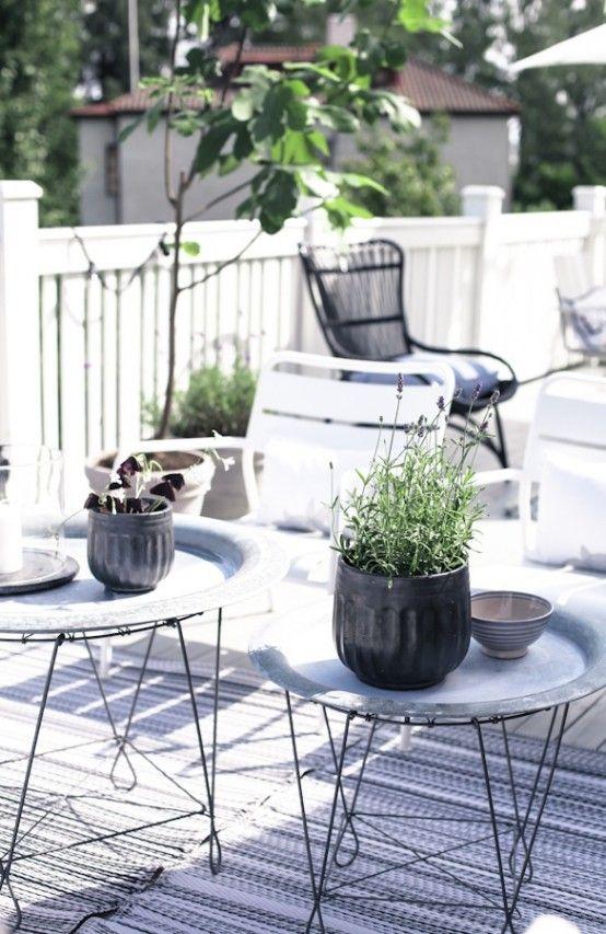 25 Calm Scandinavian Terrace Designs | Terrace decor, Terrace .