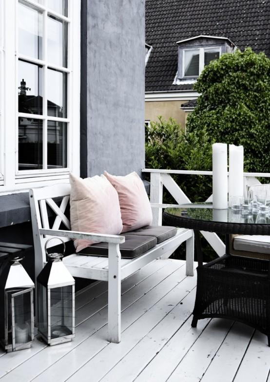 25 Calm Scandinavian Terrace Designs - DigsDi
