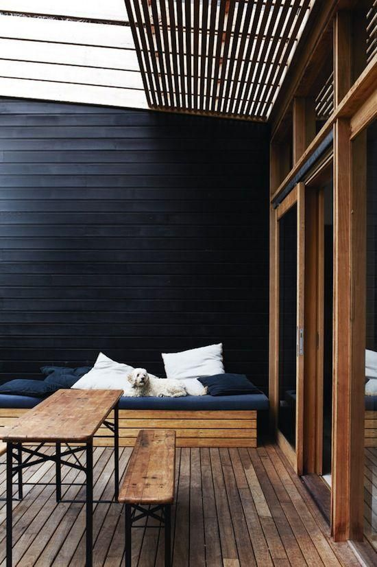 calm Scandinavian terrace designs - Nordic style Is very calm .