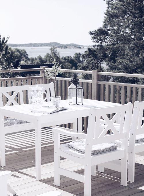 25 peaceful Scandinavian terrace designs | Terrasse dekor .