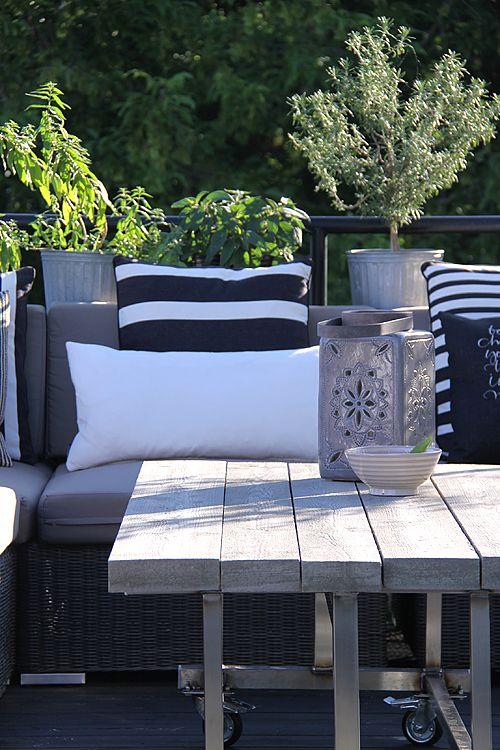 25 Calm Scandinavian Terrace Designs | Outdoor rooms, Terrace .