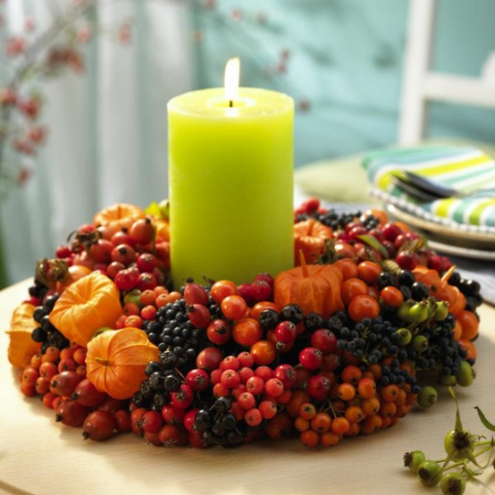 28 Candles Inspirations For Your Thanksgiving - DigsDi