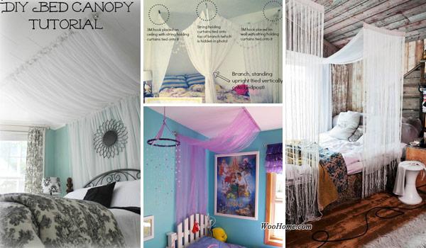 20 Magical DIY Bed Canopy Ideas Will Make You Sleep Romantic .