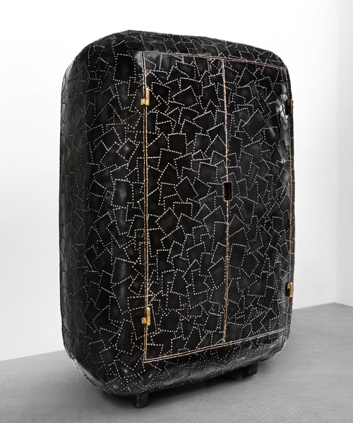 maarten baas' carapace collection at carpenters workshop gallery .