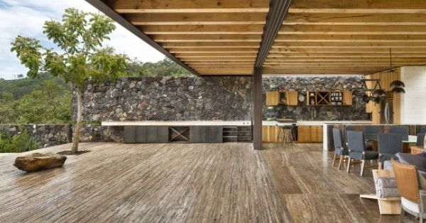 Cascading Mexican House Embedded In A Hilltop Setting | Architect .