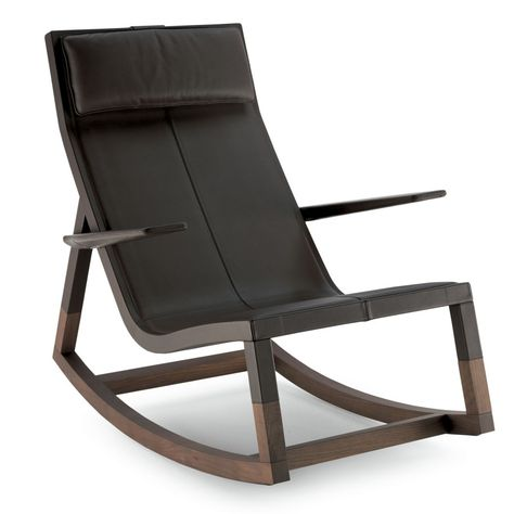 Astonishing Casual Scandinavian-Inspired Rocking Chair By .