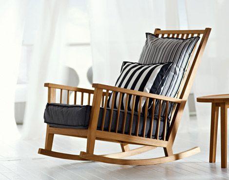 Keinutuoli | Rocking armchair, Rocking chair, Wood rocking cha