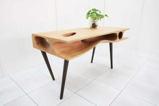 CATable: A Modern Desk For You And Your Cat - DigsDi
