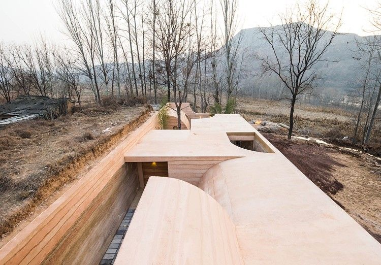 Cave House in Loess Plateau / hyperSity Architects | Beautiful .