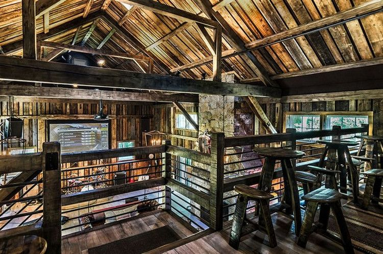This Converted Barn Might be the Coolest Man Cave We Have Ever .