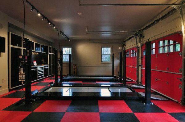 50 Man Cave Garage Ideas - Modern To Industrial Designs | Garage .