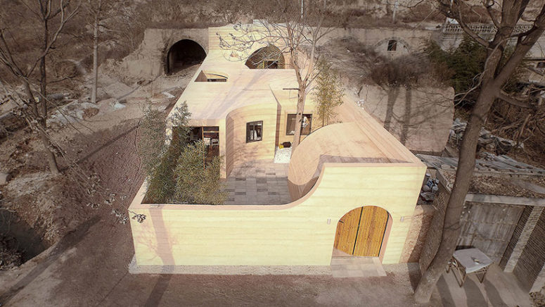 Derelict Cave House Renovated Into A Modern Dwelling - DigsDi