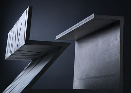 Libeskind's cement chair for Marina Abramović   Art   Agenda   Phaid