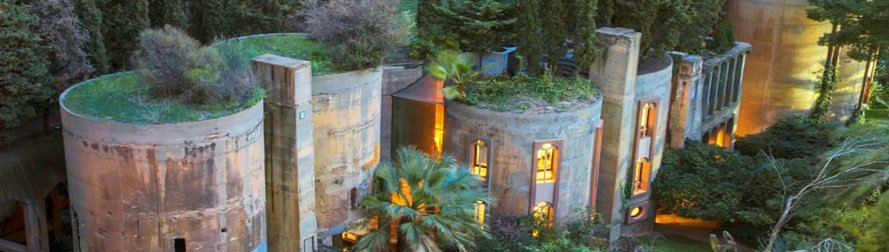 Architect turns old cement factory into incredible fairytale home .