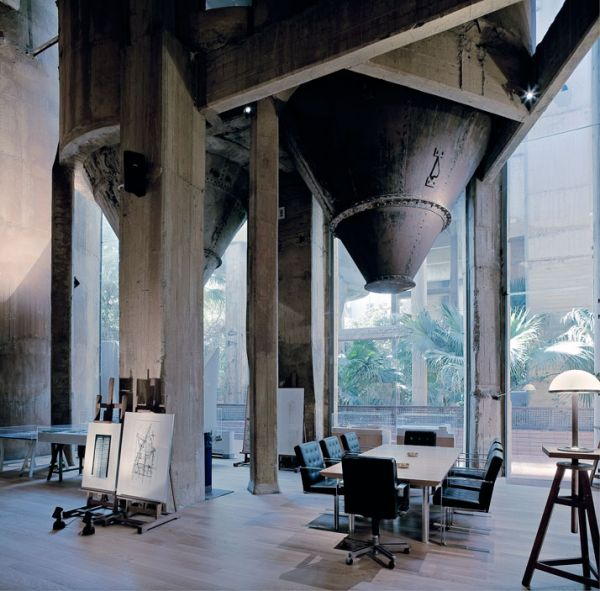 Architect Transforms A Cement Factory Into A Spacious And Inviting .