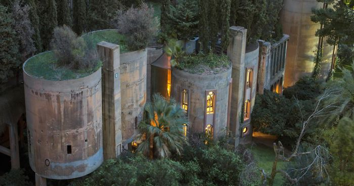 Architect Turns Old Cement Factory Into His Home, And The Interior .