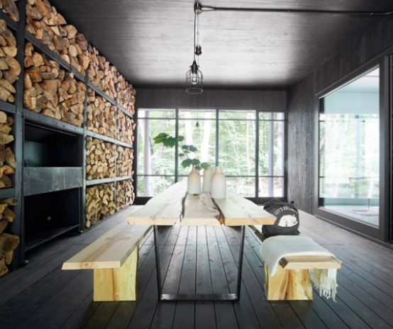 Chalet Forestier Open To The Surrounding Nature - DigsDi