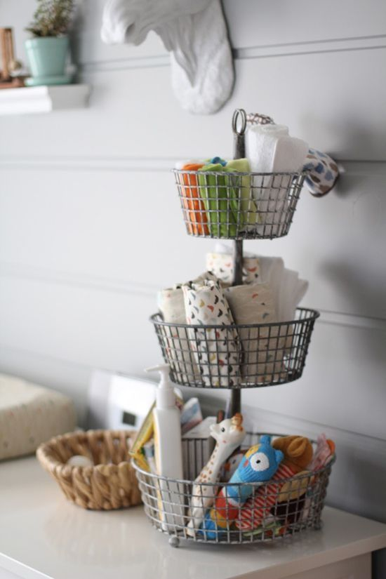Organize This: Changing Table! | Baby organization, Nursery .