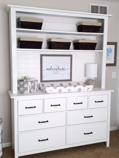 23 Coolest Changing Tables Of IKEA Items - Shelterne