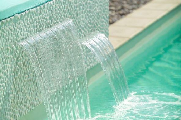 Charming Swimming Pool PowerFall By Zodiac Pooclare | Pool .