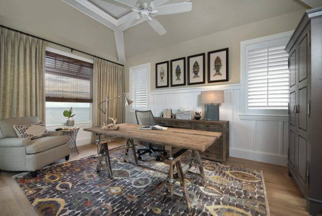 16 Charming Vintage Home Office Designs That Will Provide Pleasant .