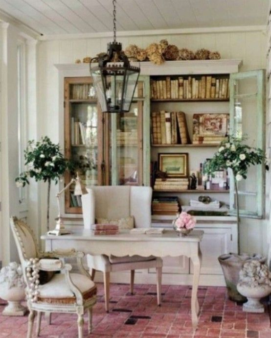 45 Charming Vintage Home Offices....Gorgeous!!! #home office .