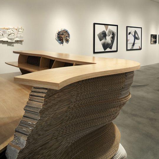 From Edward Cella Art+Architecture (ECAA), this interior separator .