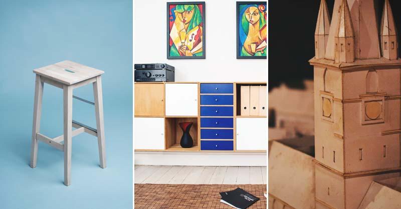 26 DIY Cardboard Furniture Ideas That Are Surprisingly Practic
