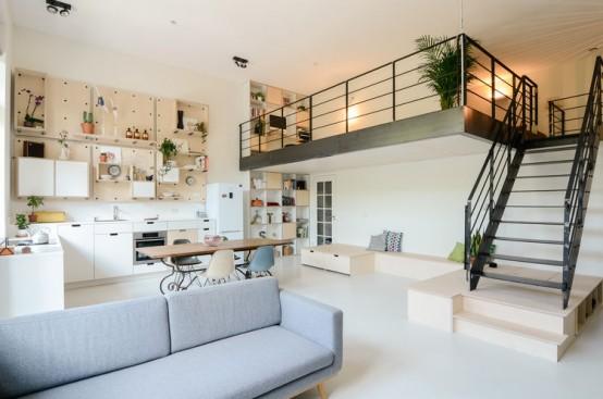 loft-like interior Archives - DigsDi