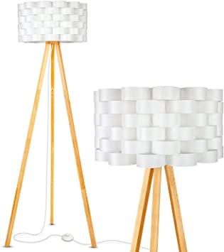 Brightech Bijou LED Tripod Floor Lamp Contemporary Design for .